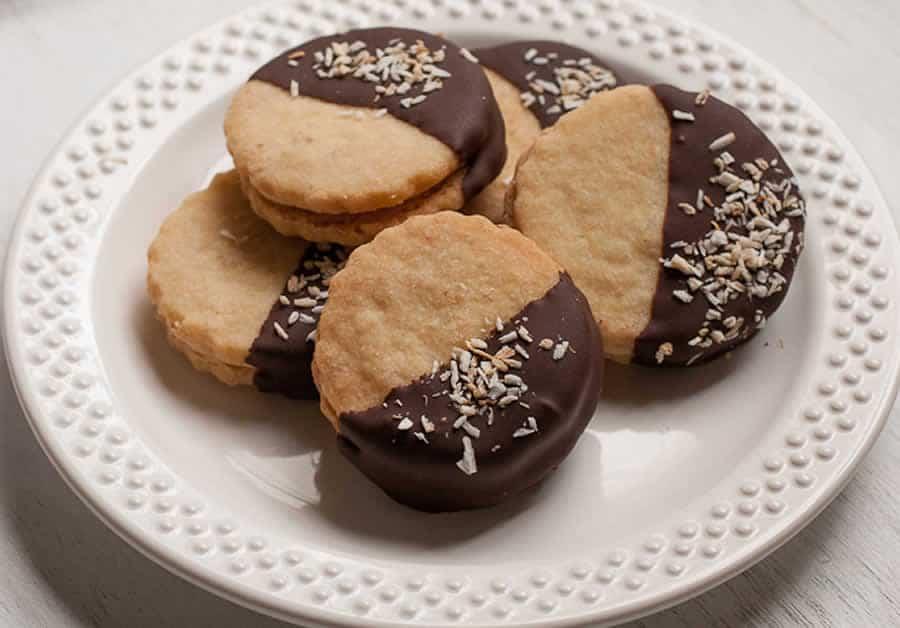 sabl s aux noix de coco et chocolat thermomix recette thermomix. Black Bedroom Furniture Sets. Home Design Ideas