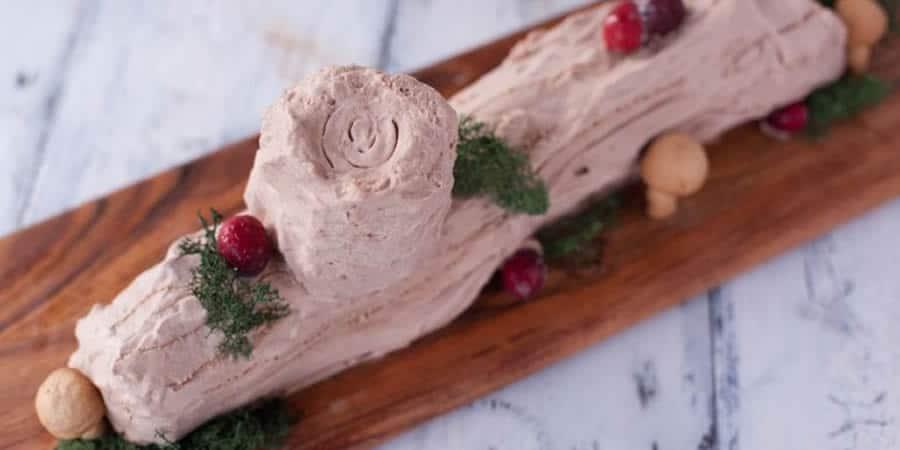 Bûche de Noël au nutella avec thermomix