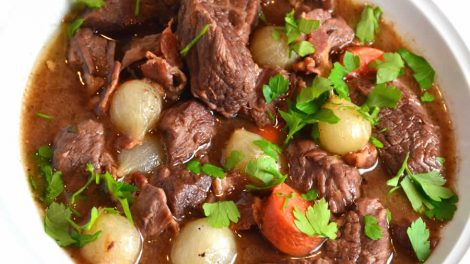 Bœuf bourguignon Recette Weight Watchers