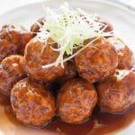 Boulettes de viande à la japonaise avec thermomix