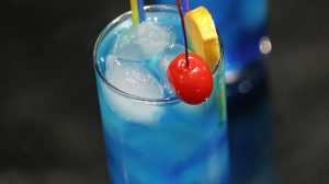 Cocktail blue lagoon au thermomix