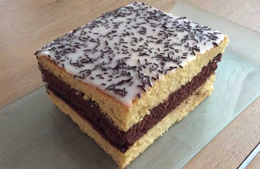 Gâteau Napolitain au thermomix