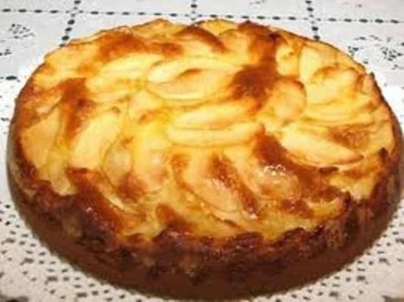 Moelleux aux pommes recette Weight Watchers