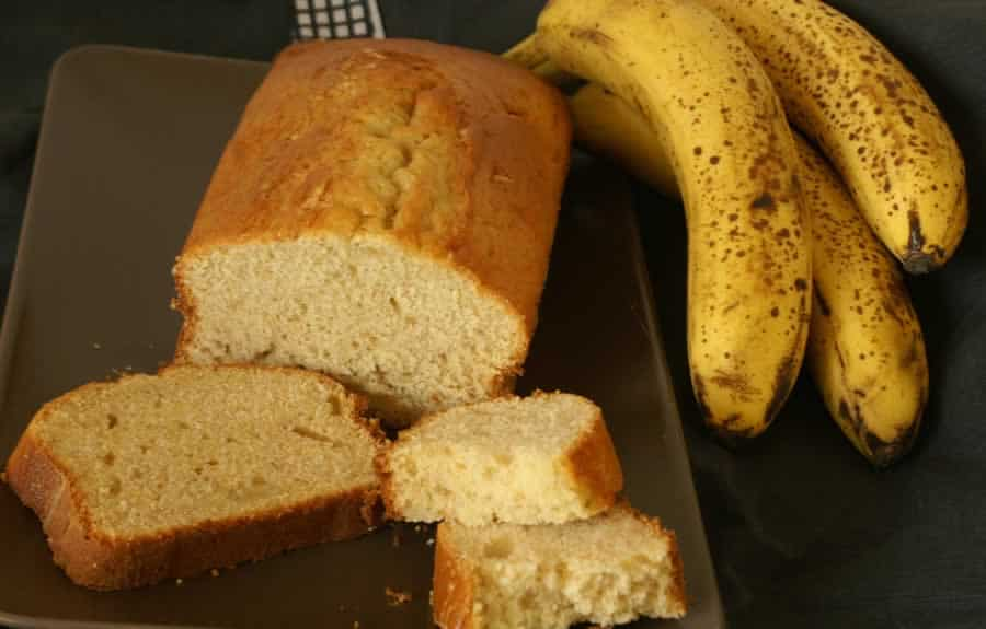 Plum Cake Yahourt Banane au thermomix