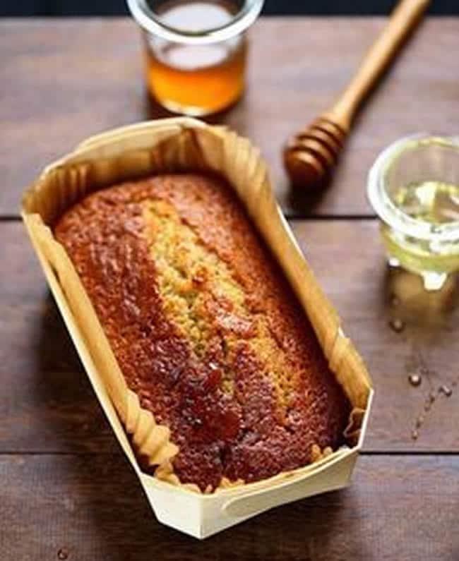 Plume Cake au miel avec thermomix
