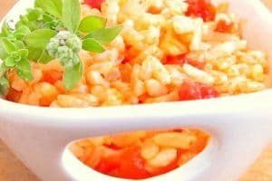 Risotto à l'espagnole recette Weight Watchers