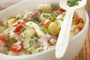 Salade piémontaise recette Weight Watchers