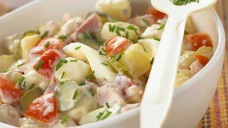 Salade piémontaise recette Weight Watchers
