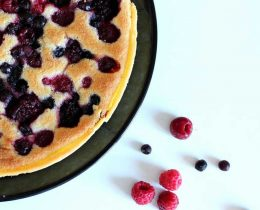 Tarte Amandine aux fruits rouges avec thermomix
