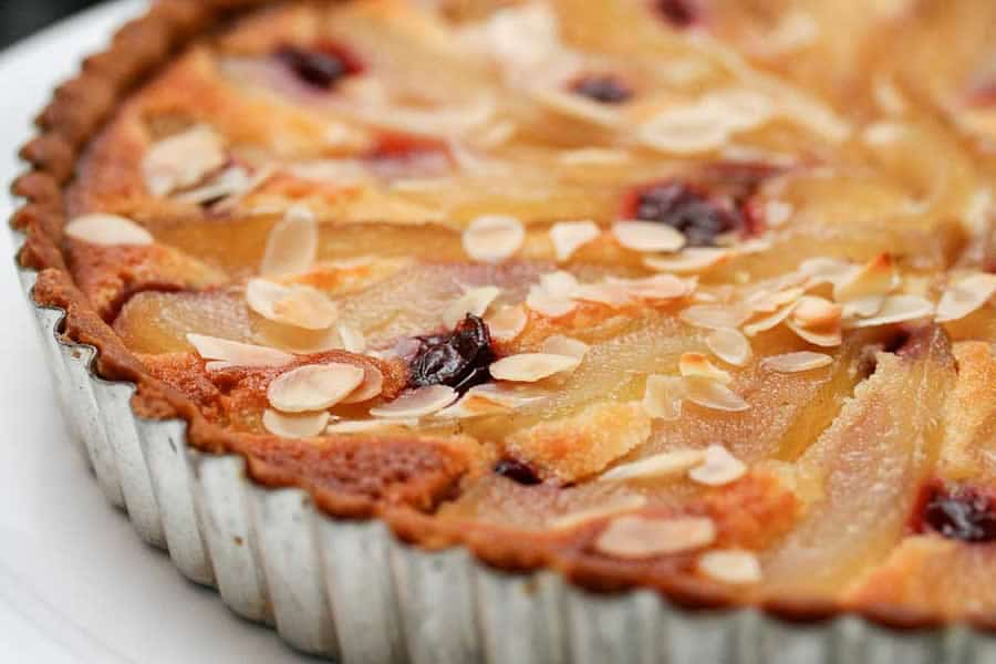 tarte poires amandes au thermomix recette thermomix. Black Bedroom Furniture Sets. Home Design Ideas
