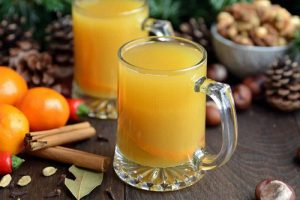 Jus d'orange chaud aux épices au thermomix