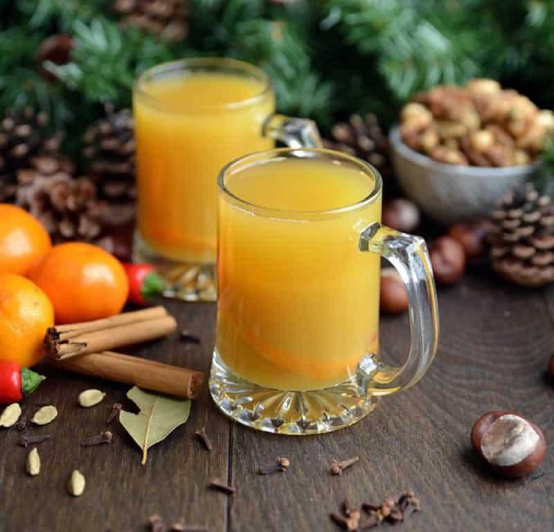 Jus d'orange chaud aux épices au thermomix