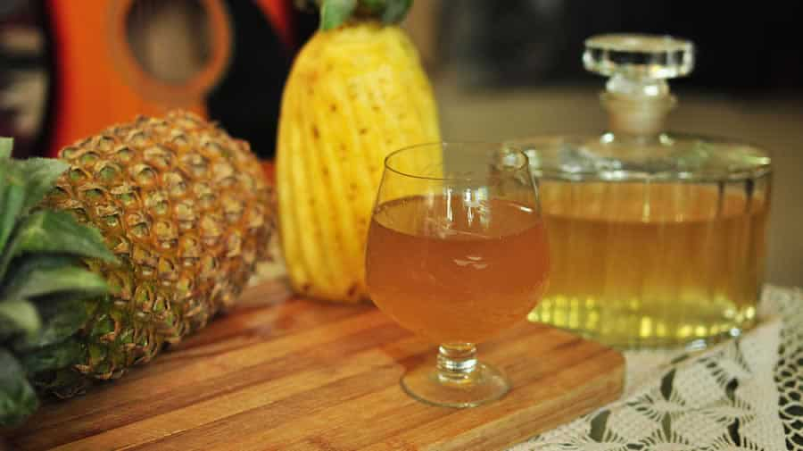Buche de noel a l'ananas thermomix