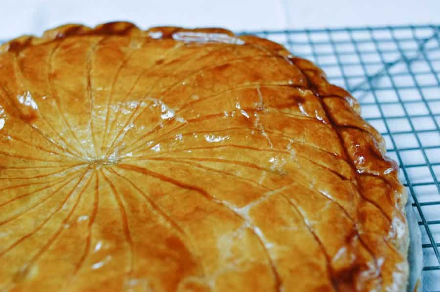 Galette des Rois aux pommes et caramel beurre salé au thermomix