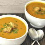 Soupe de légumes express au thermomix