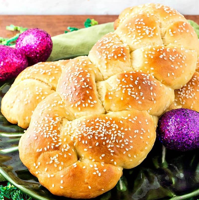 Brioche de pâques arménienne au thermomix