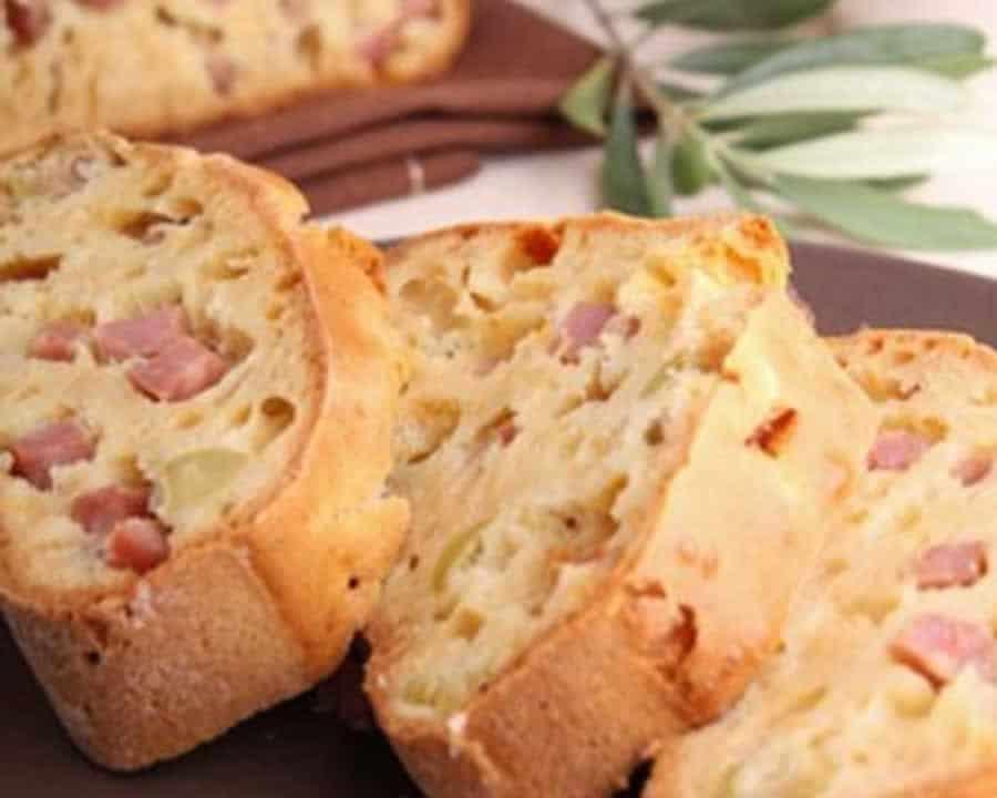 Cake au jambon et boursin au thermomix