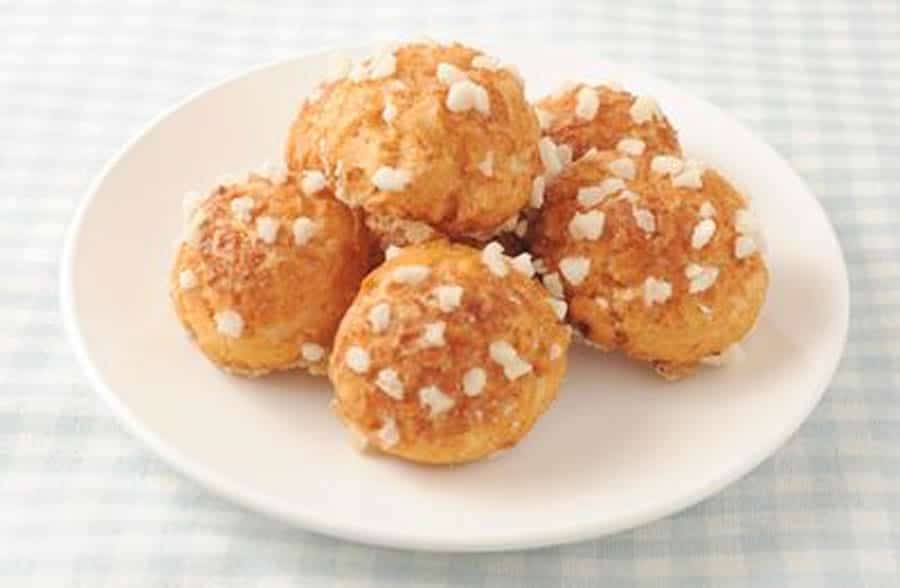 Chouquettes moelleuses au thermomix