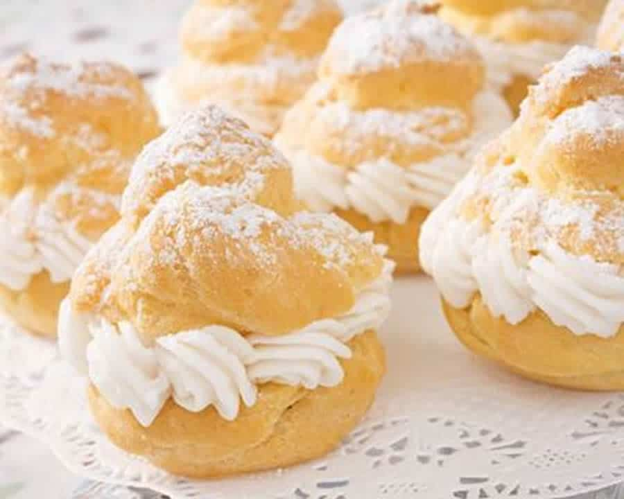 Choux à la chantilly au thermomix