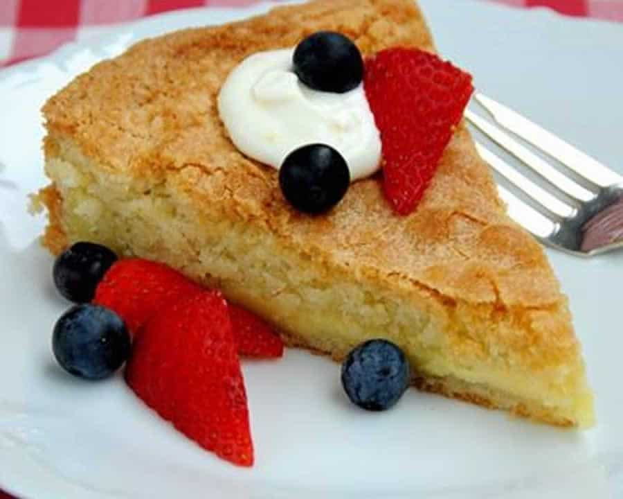 Gâteau basque au thermomix