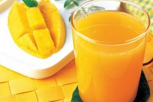 Nectar de papaye mangue et orange au thermomix