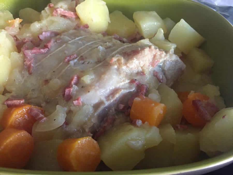 Rôti de porc à la moutarde au cookeo