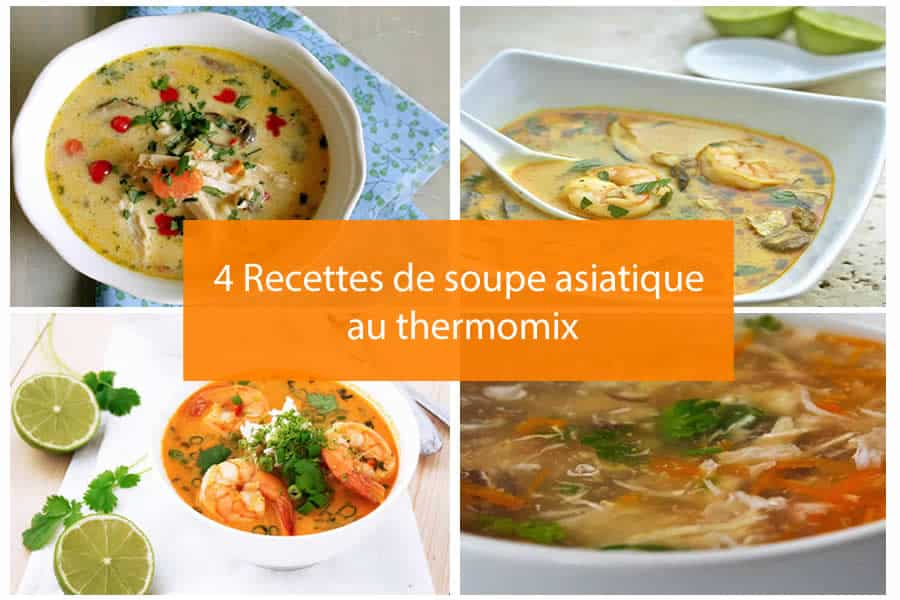 4 recettes de soupe asiatique au thermomix soupe au thermomix. Black Bedroom Furniture Sets. Home Design Ideas