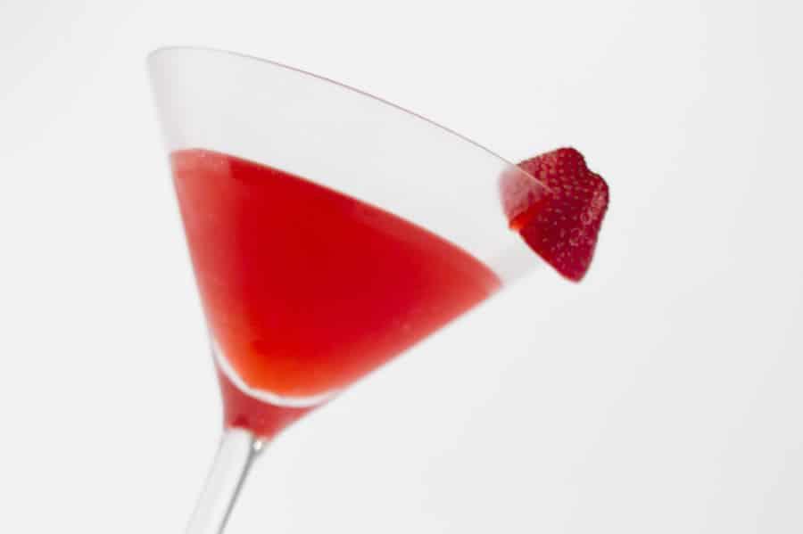 Cocktail aux fraises au thermomix recette thermomix for Cocktail thermomix