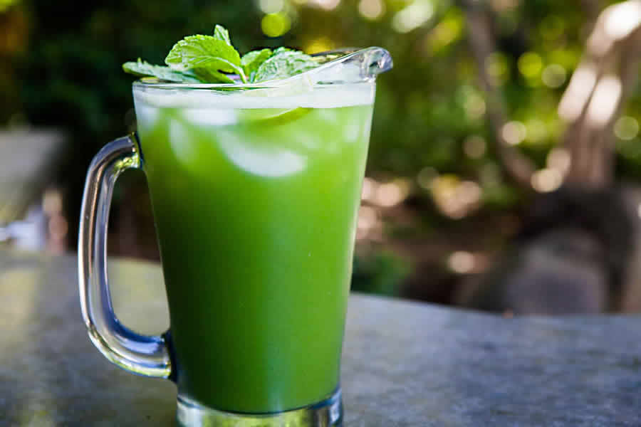 Cocktail concombre menthe citron vert au thermomix