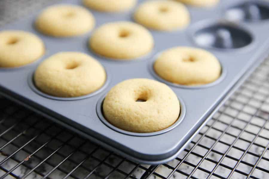 Donuts au four au thermomix
