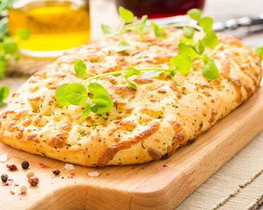 Fougasse au fromage au thermomix