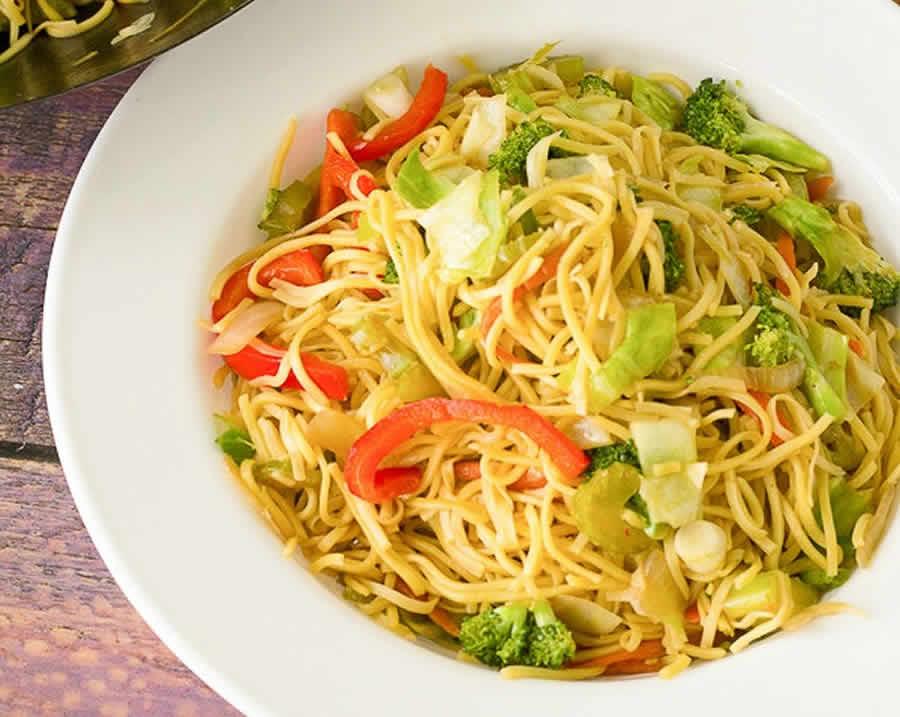 Nouilles Chinoises aux légumes au thermomix