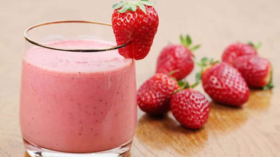 Smoothie Fraise au thermomix