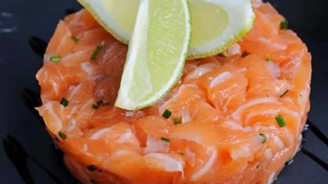 Tartare aux deux saumons au thermomix