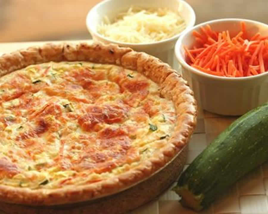Tarte aux courgettes et carottes au thermomix