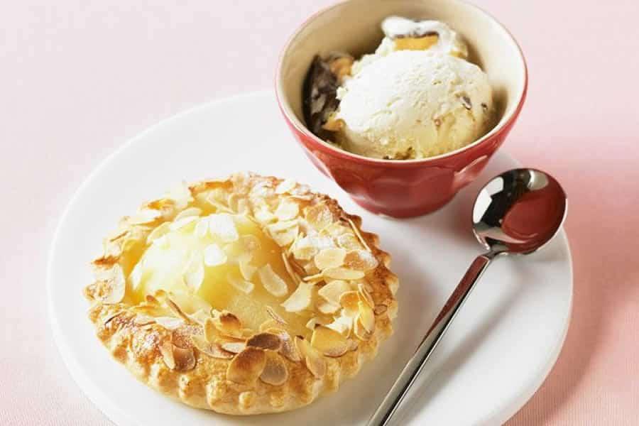 Tartelettes à la crème à la vanille au thermomix