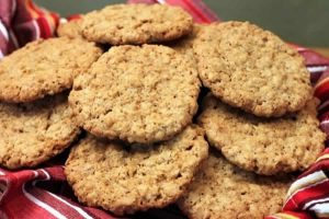 Biscuits d'avoine Recette WW