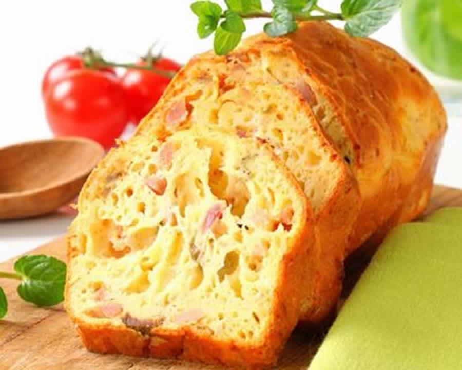 Cake Au Jambon Fromage Et Courgettes