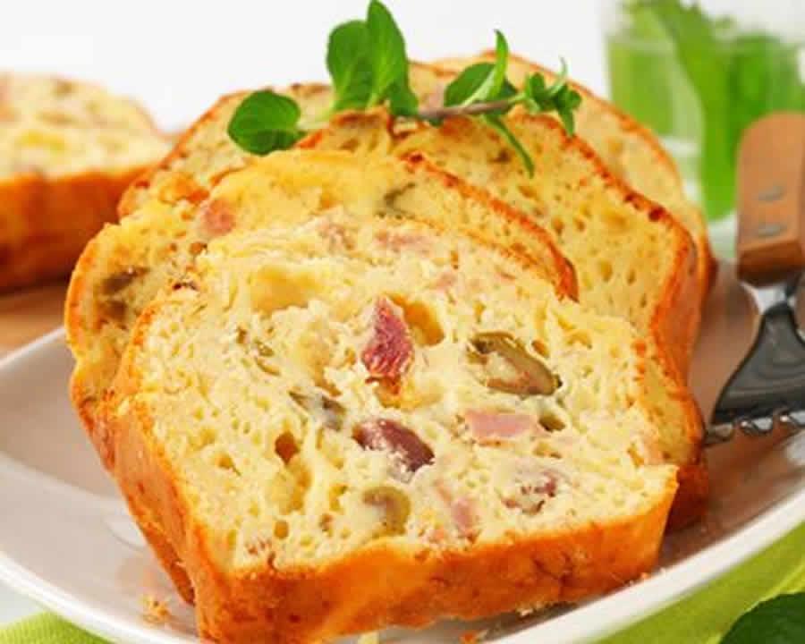 Cake Facile Sal Ef Bf Bd Jambon