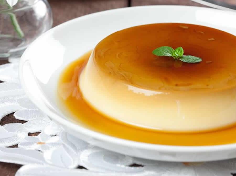 Crème caramel renversée facile au thermomix