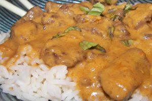Curry de boeuf façon thai au thermomix