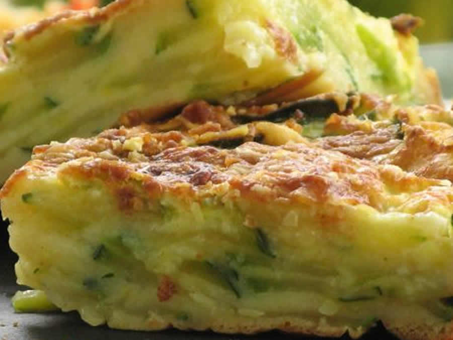G teau invisible courgettes et chorizo au thermomix - Gateau simple thermomix ...