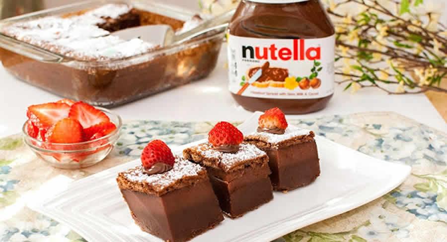 Gâteau magique au Nutella au thermomix