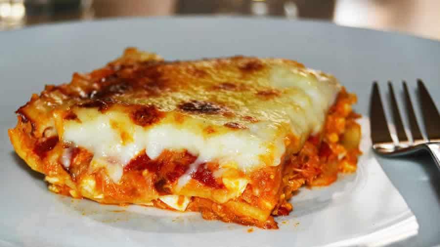 Lasagnes légumes ricotta et thon au thermomix