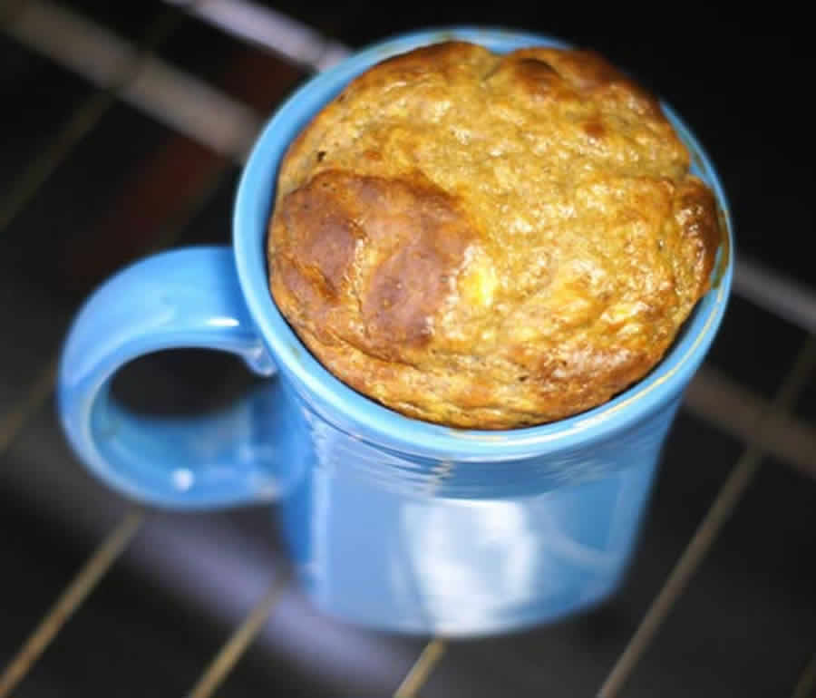 Banana Mug Cake Without Flour