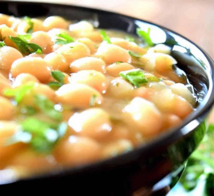 Ragoût d'haricots blanc et de légumes au Thermomix