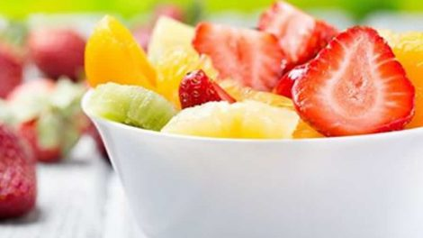 Salade de fruits au yaourt Recette WW