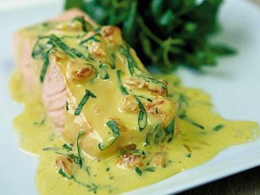 Saumon à la sauce hollandaise au thermomix