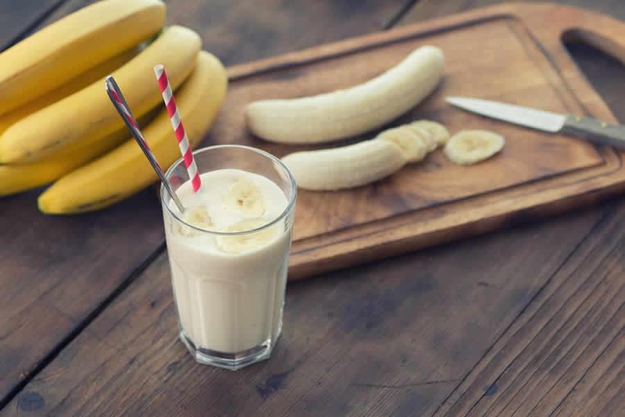 Batido à la banane au thermomix