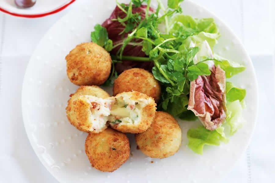 Croquettes au bacon au thermomix